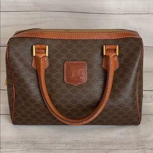 Celine Paris Macadam Boston Bag